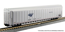 Kato N 106-5505 Autorack  Amtrak Auto Train Phase V 4 Car Set #3