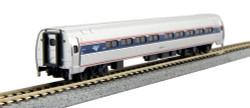 Kato N 106-8002 Budd Amfleet I 2-Car Coach Set A  Amtrak Phase VI