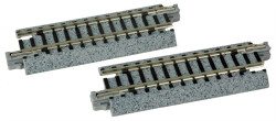 "Kato N 20-030 Unitrack Straight Track 64mm 2 1/2"" 2 pieces"