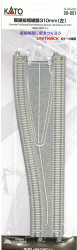 """Kato N 20-051 Unitrack CT Double Track Widening Section Left 310mm (12 1/5"""")"""