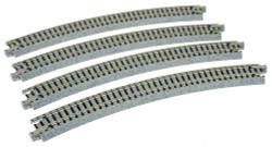 "Kato N 20-140 Unitrack Curved Track 381mm 15"" Radius - 30 degrees"