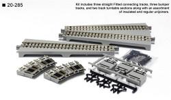 Kato N 20-285 Unitrack Turntable Extension Track Straight
