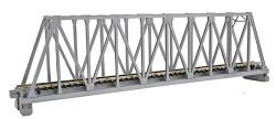 Kato N 20-433 Unitrack Single Track Truss Bridge with Track Silver 248mm (9 3/4)