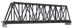Kato N 20-434 Unitrack Single Truss Bridge Black 248mm (9 3/4)