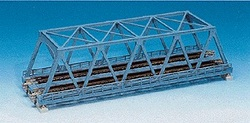 Kato N 20-437 Unitrack Double Track Truss Bridge, Silver 248mm (9 3/4)