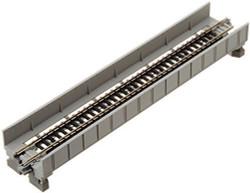 Kato N 20-452 Unitrack Single Track Plate Girder Bridge with Track Gray 186mm (7 5/16)