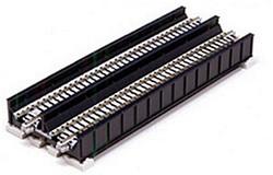 Kato N 20-458 Unitrack Double Track Plate Girder Bridge with Track Black (7 5/16) 186mm