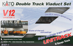 Kato Unitrack N Scale V12 Double Track Viaduct Set