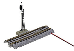 Kato HO Unitrack 2-601 Automatic Three Color Signal