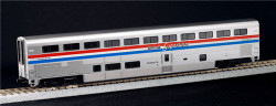 Kato HO 356082 Amtrak Superliner Sleeper Phase III with 6 Selectable Car Numbers