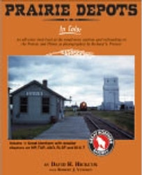 Morning Sun Books 1487 Prairie Depots In Color Volume 1: GN, MP, A&O, SLSF and M-K-T