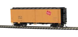 MTH HO 85-78040 40' Steel Sided Reefer Milwaukee Road URTX #37059