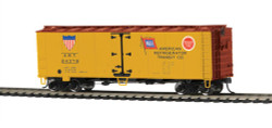MTH HO 85-78047 40' Steel Sided Reefer American Refrigerator ART #24378