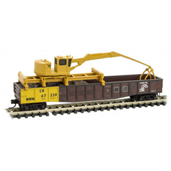 Micro Trains Line 993 01 880 Conrail Tie Loader - Weathered - 3 Pack