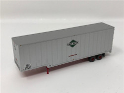 Trainworx N 40306-08 40' Drop Frame Trailer Illinois Central IC #208713