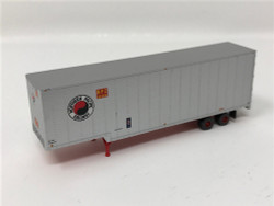 Trainworx N 40333-04 40' Drop Frame Trailer Northern Pacific NP #201556