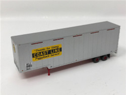 Trainworx N 40353-02 40' Drop Frame Trailer Atlantic Coast Line ACL #204046