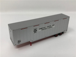 Trainworx N 40366-02 40' Drop Frame Trailer Tennessee Central TC #206634