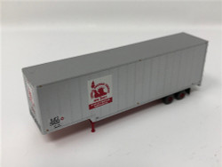 Trainworx N 40367-02 40' Drop Frame Trailer Central New Jersey CNJ #204351