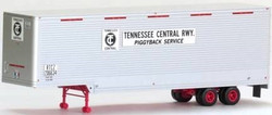Trainworx HO 80366-02 40' Drop Frame Van Trailer, Tennessee Central TC #206634