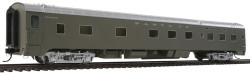 "Walthers Proto HO Scale Ready to Run San Francisco Chief, 85' Pullman-Standard ""Valley"" Series 6-6-4 Sleeper Passenger Car, Atkinson Topeka & Santa Fe San Francisco Chief-Deluxe Version (Painted Finish)"