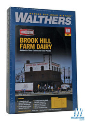Walthers Cornerstone HO Scale 933-3010  Brookhill Farm Dairy - Kit