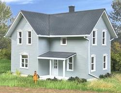 Walthers Cornerstone HO 933-3789 Tillman Farm House -- Kit