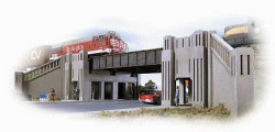 Walthers Cornerstone Series(R) N Scale Structure Kit, Art Deco Underpass