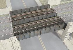 Walthers N Scale Cornerstone Series(R) Kits - Through Plate-Girder Bridge