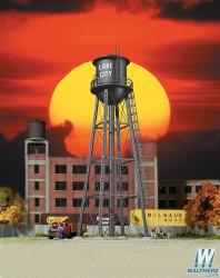 Walthers Cornerstone N 933-3832 Vintage Water Tower - Black