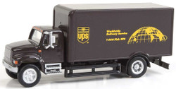 Walthers SceneMaster HO 949-11293 International 4900 Single-Axle Box Van - Assembled - United Parcel Service UPS Bow Tie Shield Logo