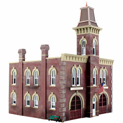 Woodland Scenics BR4934 N Built Up Firehouse
