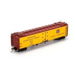 Athearn HO ATH94573 RTR 50' Ice Reefer Burlington CB&Q #312