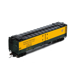 Athearn HO ATH97356 RTR 50' Ice Bunker Reefer, C&NW Chicago and Northwestern NWX #52001