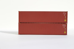 Jacksonville Terminal Company N 405005 40' High Cube  Container CP SHIPS CPSU door Flag Scheme 2-Pack
