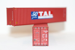 Jacksonville Terminal Company N 405001 40' High Cube Container TAL 50 Years 2-Pack
