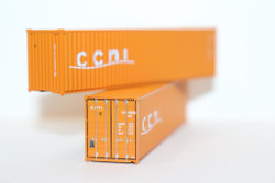 Jacksonville Terminal Company N 405006 40' High Cube Container CCNI 2-Pack