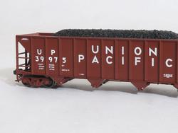 Tangent Scale Models 80010-10 N Bethlehem Steel 3600 cuft Quad Hopper Union Pacific Original H-100-16 UP#40196