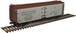Atlas Master HO 20004745 40' Wood Reefer North Western Refrigerator Line NWX #6126