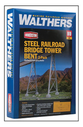 Walthers Cornerstone  HO 933-4554 Steel Railroad Bridge Tower - Kit