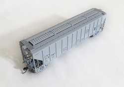 Tangent Scale Models HO  21010-05 Pullman-Standard PS-2 4427 High Side Covered Hopper, Missouri Pacific - CE&I Original Gray 6-1971 CEI #712103