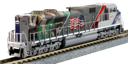 """Kato N 1761943DCC EMD SD70ACe Diesel Locomotive Union Pacific """"The Spirit"""" UP #1943 TCS DCC Equipped"""
