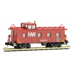 Micro Trains 100 00 410 36' Riveted Steel Caboose w/ Offset Cupola Norfolk & Western NW #562747