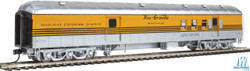 Walthers Proto HO 920-17403 70' Heavyweight Railway Post Office - Baggage Denver & Rio Grande Western 4 Stripe Scheme DRGW Arch Roof