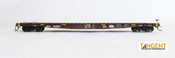 Tangent Scale Models HO 11025-02 GSC 60' Flat Car Missouri Pacific UP MOW Brown Eagle post-2005 - MP #15487