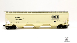 ScaleTrains HO Operator SXT10550 Gunderson 5188 cf Covered Hopper CSX - CSXT#261598