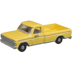 Atlas N 60000114 1973 Ford F-100 Pickup Truck MOW Yellow 2 Pack
