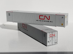 Jacksonville Terminal Company N 535002 53' High Cube Container CN Intermodal 2-Pack
