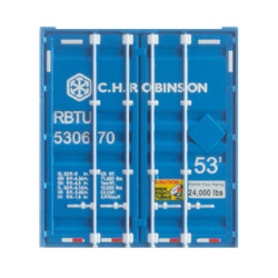 Micro Trains Line 46900142 53 ft Corrugated Side Container C.H. Robinson #RBTU 530705