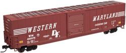 Atlas Master Line N 50001991 ACF 60' Auto Parts Box Car Western Maryland WM # 495975